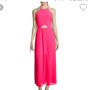 Halter cut out maxi dress. EVERYTHING must go!!!